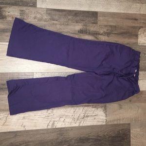 Purple scrub pants XXS Grey's Anatomy